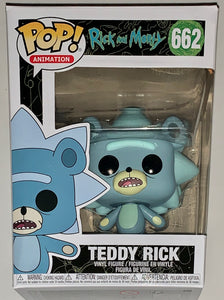 Teddy Rick Rick and Morty Funko POP 662