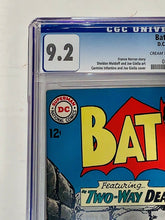 Load image into Gallery viewer, BATMAN #166 Silver Age 1964 DC Comics CGC 9.2