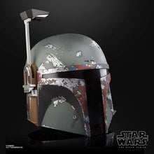 Load image into Gallery viewer, Star Wars The Black Series Boba Fett Electronic Helmet