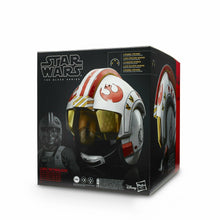 Load image into Gallery viewer, Star Wars The Black Series Luke Skywalker Battle Simulation Helmet
