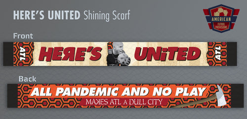 HERE'S UNITED - Scarf