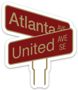 ATLANTA UNITED INTERSECTION - DECAL