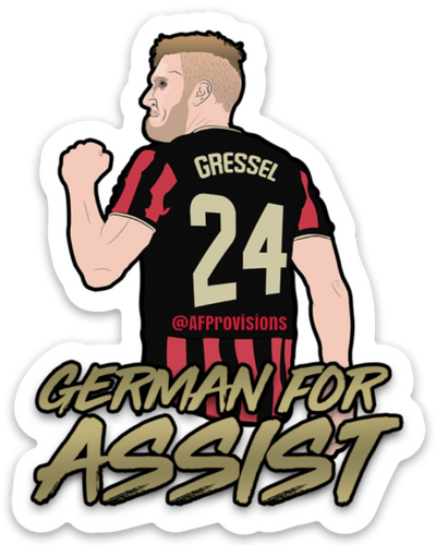 Gressel = German for Assist Decal