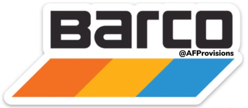 Barco Train Decal