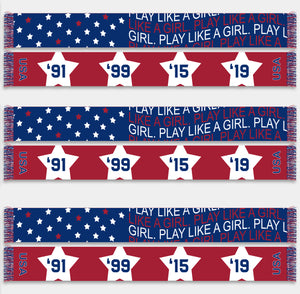 Play Like A Girl USA - Scarf