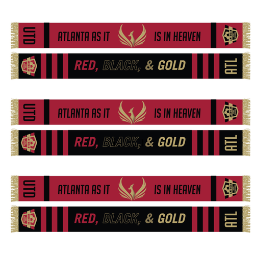 Atlanta As It Is In Heaven Scarf