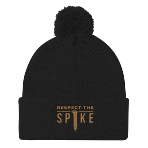 Respect the Spike - Pom (Black)