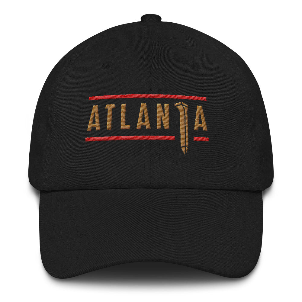 ATLANTA SPIKE - DAD HAT (Black)