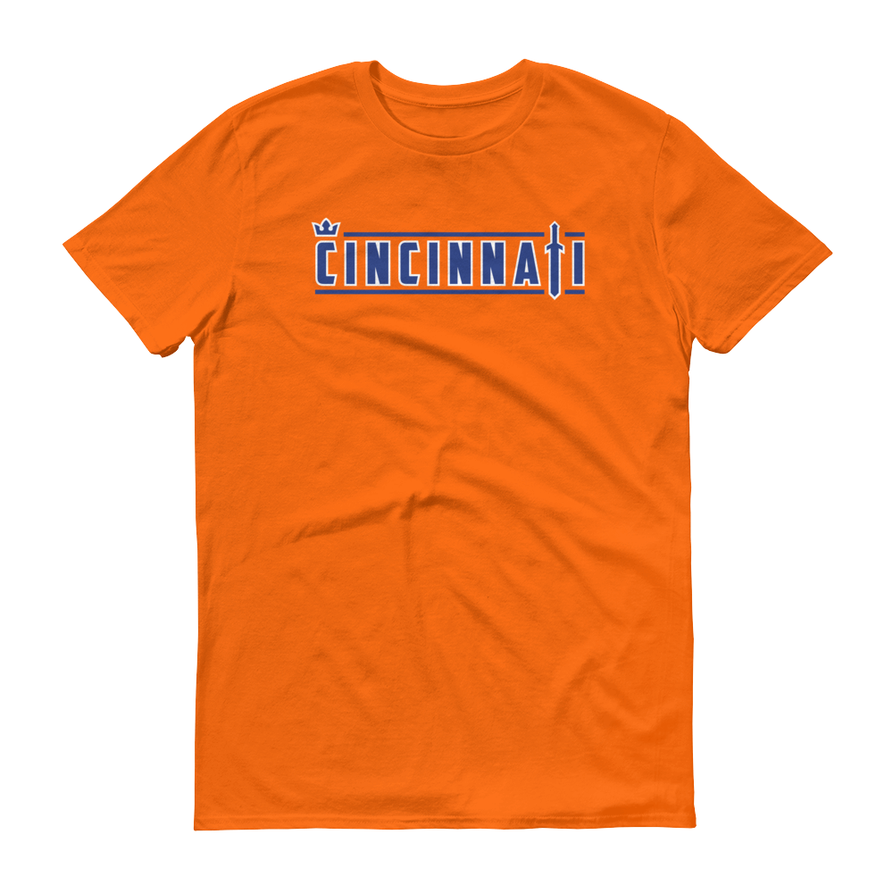 CINCINNATI Crown & Sword (Orange) Unisex