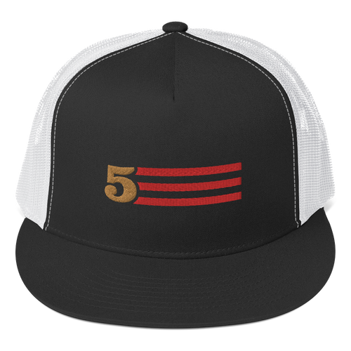 5 Stripes (Horizontal) Trucker Cap