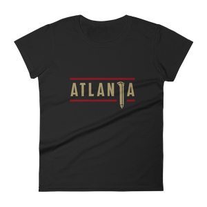 ATLANTA SPIKE (Black) Women's Short Sleeve T-Shirt