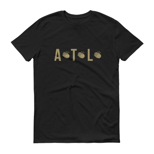 ATL VIKING CLAP (Black) Unisex T-Shirt