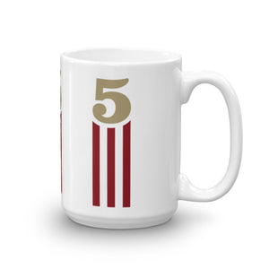 5 STRIPES - VERTICAL MUG