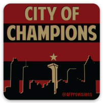 City Of Champions - Decal