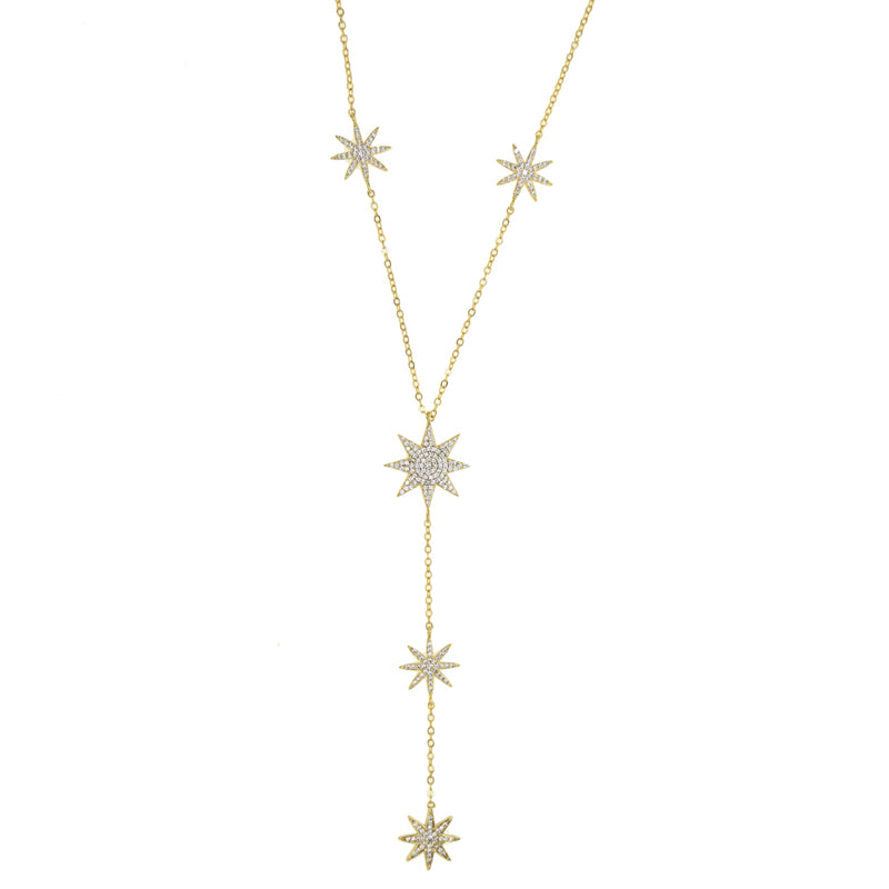 Shooting Star Drop Necklace