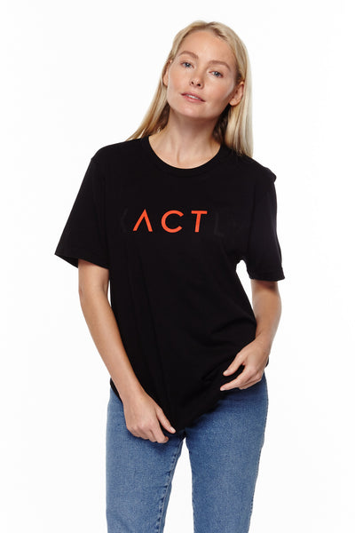"""ACT"" Unisex T-Shirt - Red"