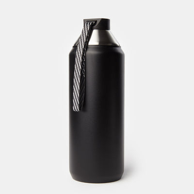 Hydrogen - Stainless Steel Dual Opening Bottle-Water Bottles-Black-32 oz-XACTLY Life