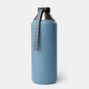Hydrogen - Stainless Steel Dual Opening Bottle-Water Bottles-Steel Blue-32 oz-XACTLY Life