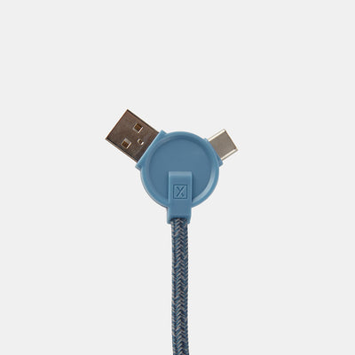 Take 20% Off Lithium CC 3-in-1 Charging Cable with Bag purchase