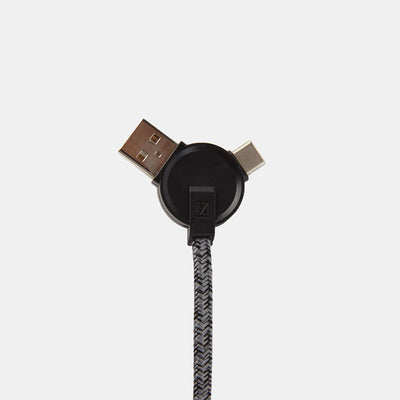 Take 20% Off Lithium CC 3-in-1 Charging Cable with Bag purchase-Power-XACTLY Life
