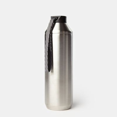 Hydrogen - 20 oz Stainless Steel Dual Opening Bottle-Water Bottles-Stainless-XACTLY Life