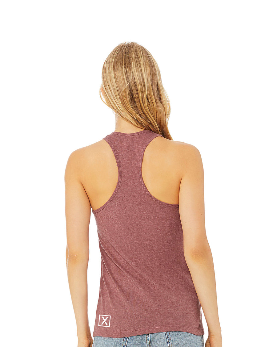"""Find Your Journey"" Ladies Racerback Tank"