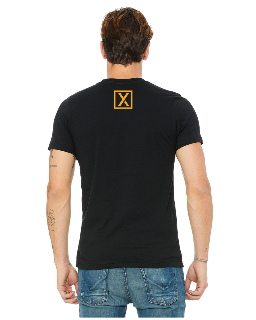 """ACT"" Unisex T-Shirt - Yellow-T-Shirts-XACTLY Life"
