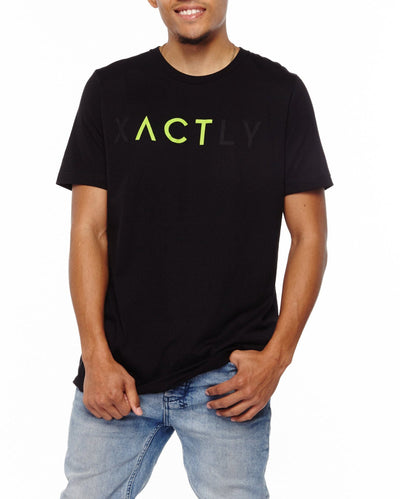 xactly.act.green.logo.unisex.jersey.poly.short.sleeve.tshirt.