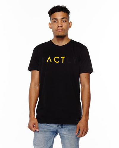 """ACT"" Unisex T-Shirt - Yellow"