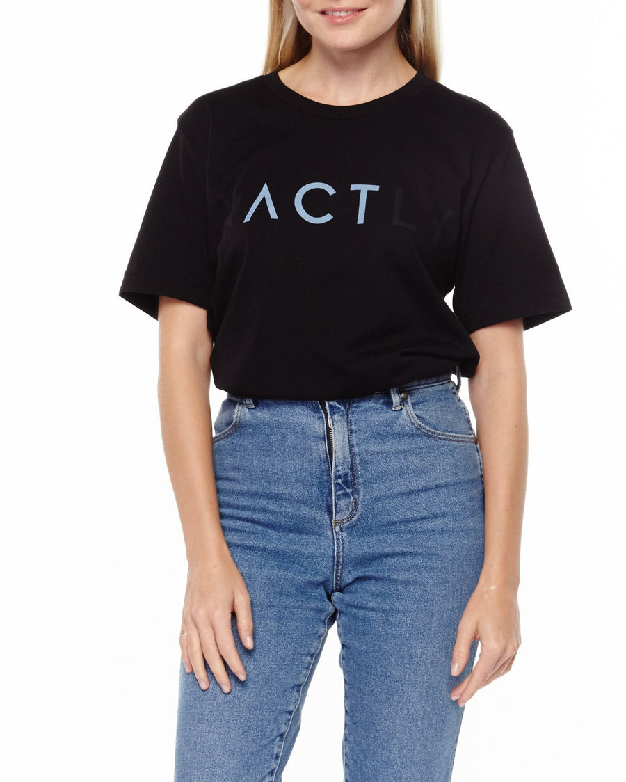 """ACT"" Unisex T-Shirt - Blue"