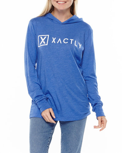 xactly.life.xactly.graphic.logo.blue.unisex.jersey.cotton.poly.long.sleeve.hoodie.tshirt.