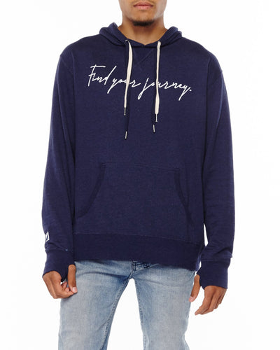 xactly.find.your.journey.graphic.blue.french.terry.unisex.pullover.hoodie.