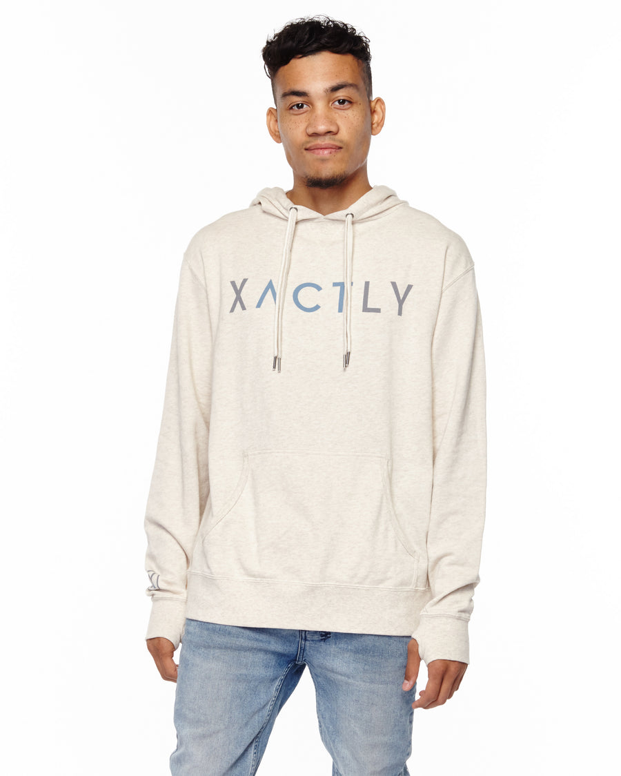 xactly.act.love.by.what.you.do.logo.white.unisex.french.terry.cotton.poly.pull.over.hoodie.