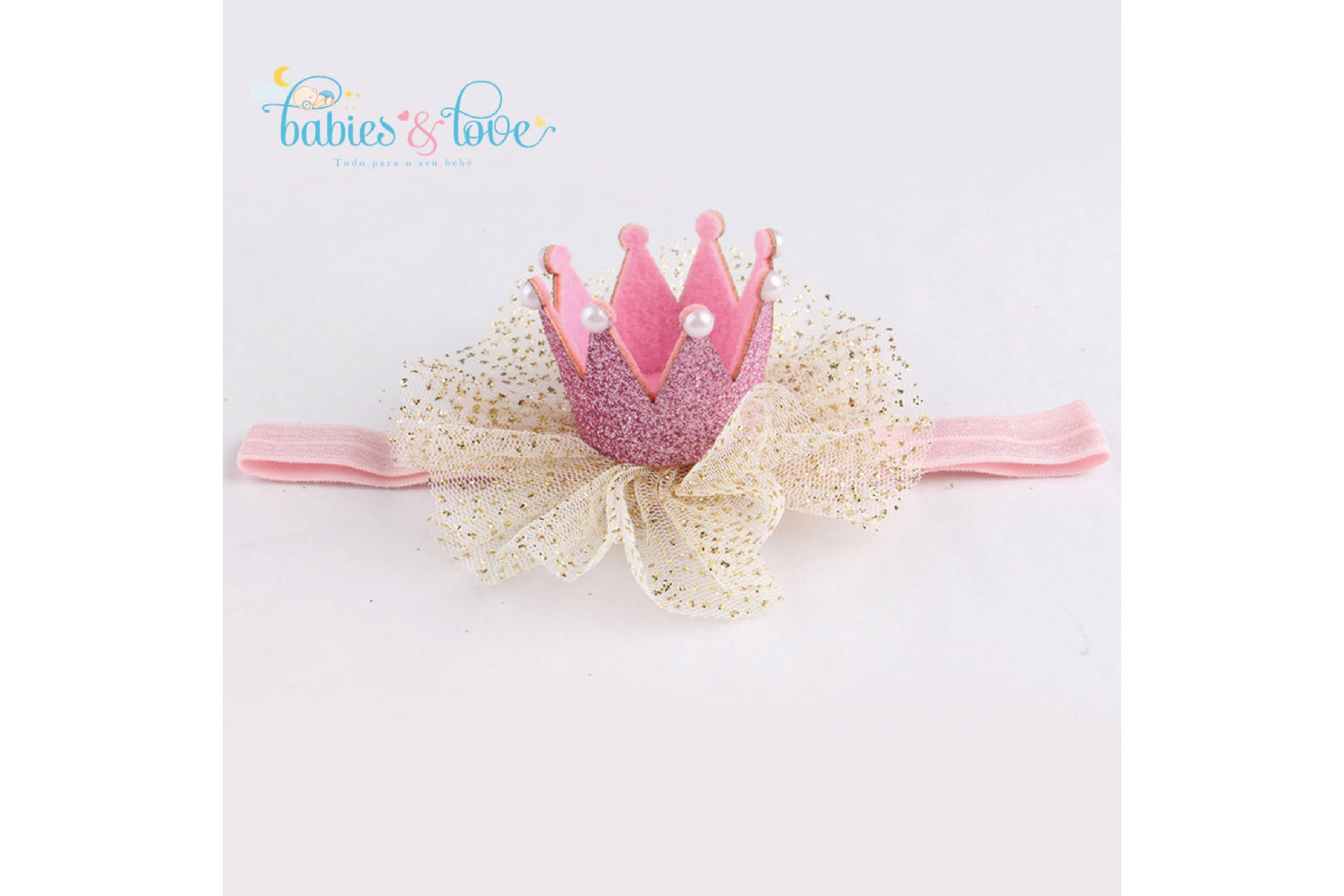 Fita Princess Pink Crown
