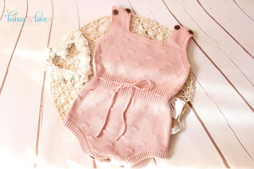 Fofo Pink Knitted 18 a 24 meses