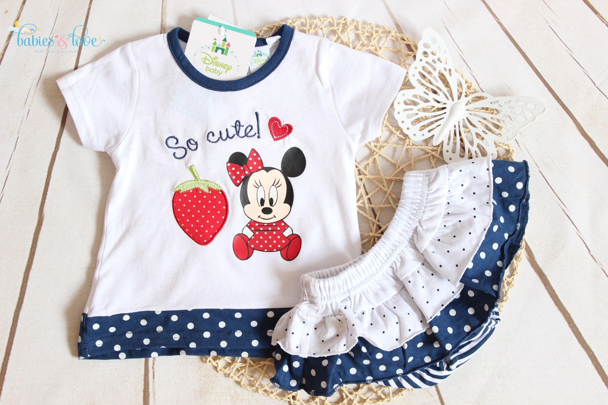 Conjunto Disney Minnie 24 meses
