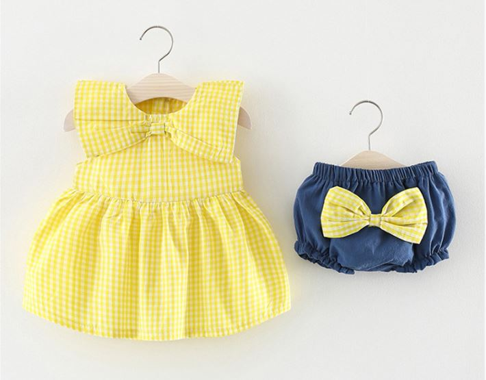 Conjunto Yellow Bow