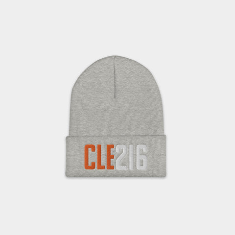 CLE216 Beanie, Heather Gray