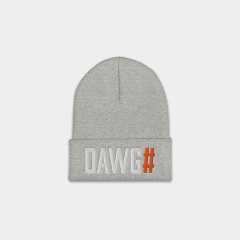 DAWG# Beanie, Heather Gray