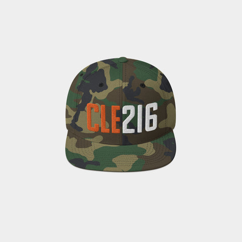 CLE216 Classic Snapback, Camo