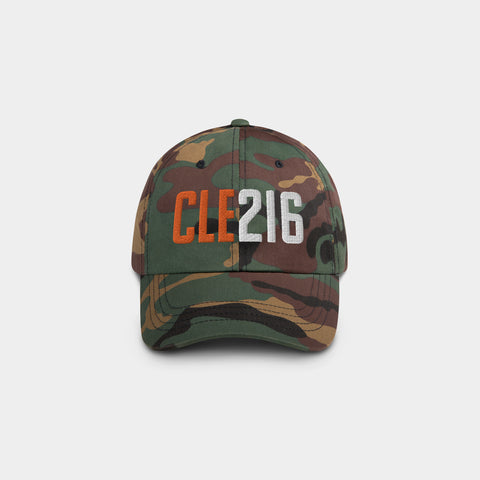 CLE216 Classic Dad Hat, Camo