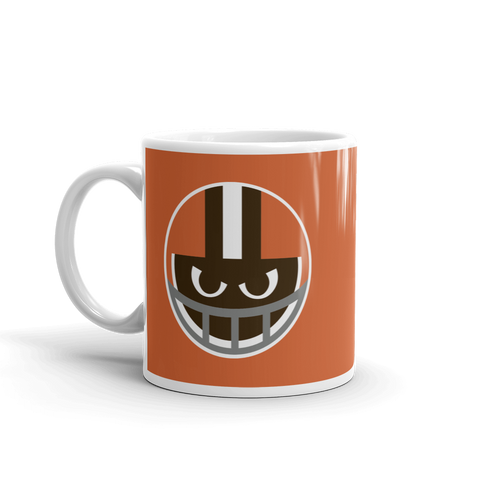 Lil' Destroyer Mug, Throwback Orange