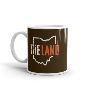 The Land Mug, Brown
