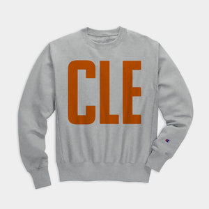 CLE Sweatshirt, Heather Gray