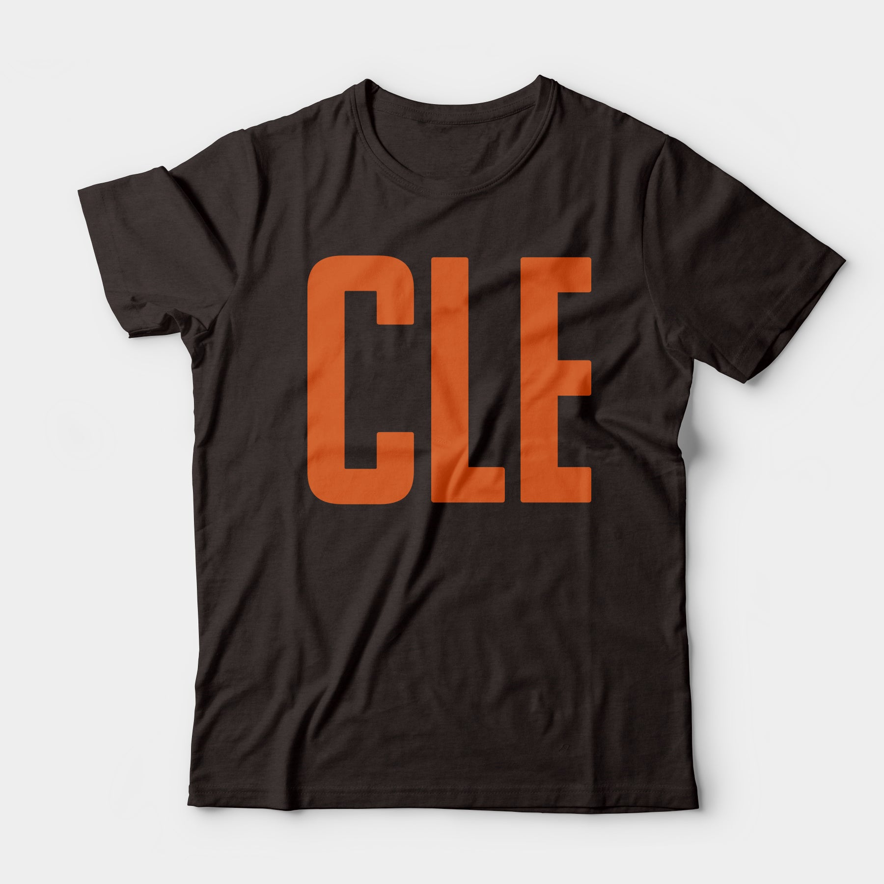 CLE Tee, Brown