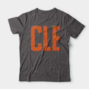 CLE Tee, Charcoal