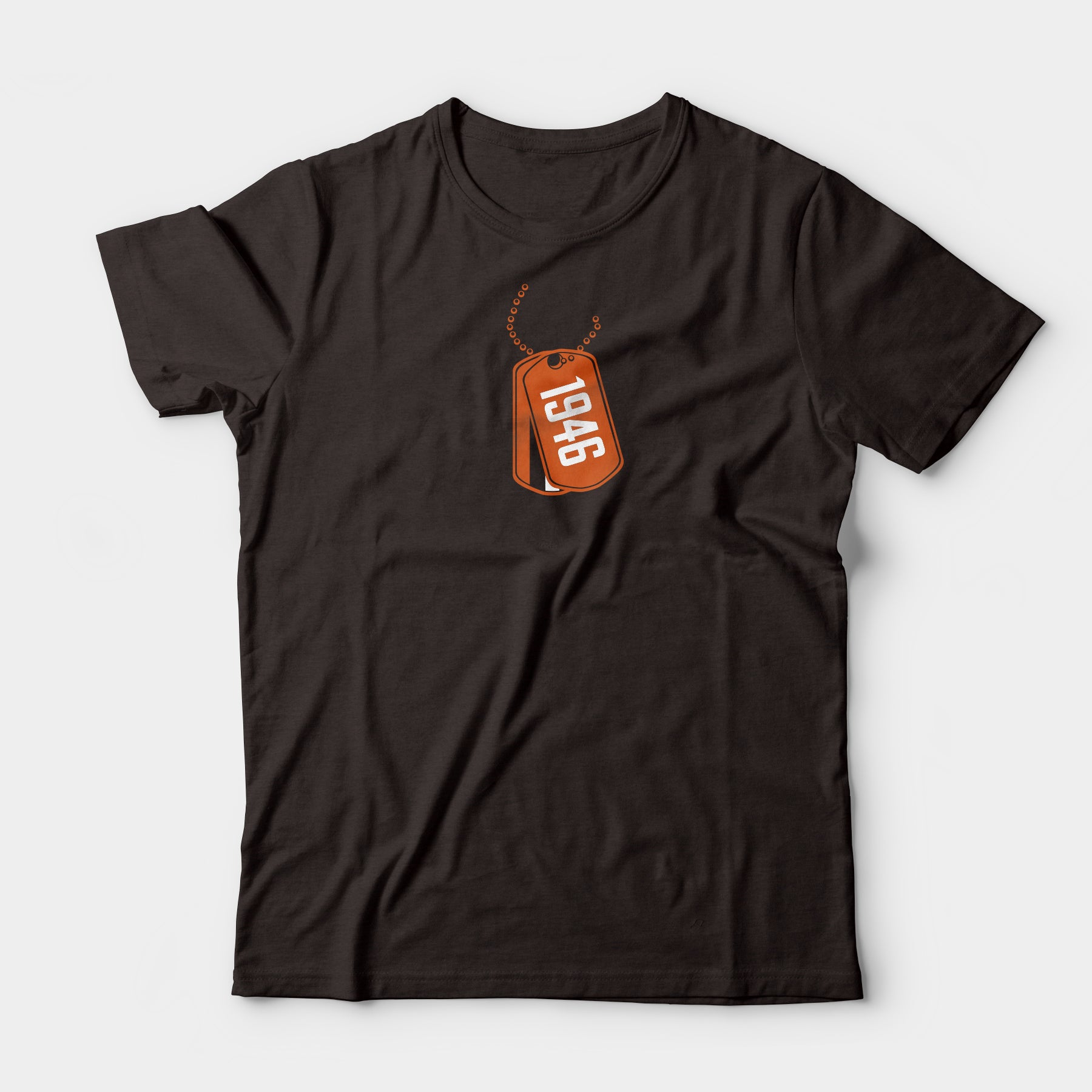DAWGTAG Tee, Brown