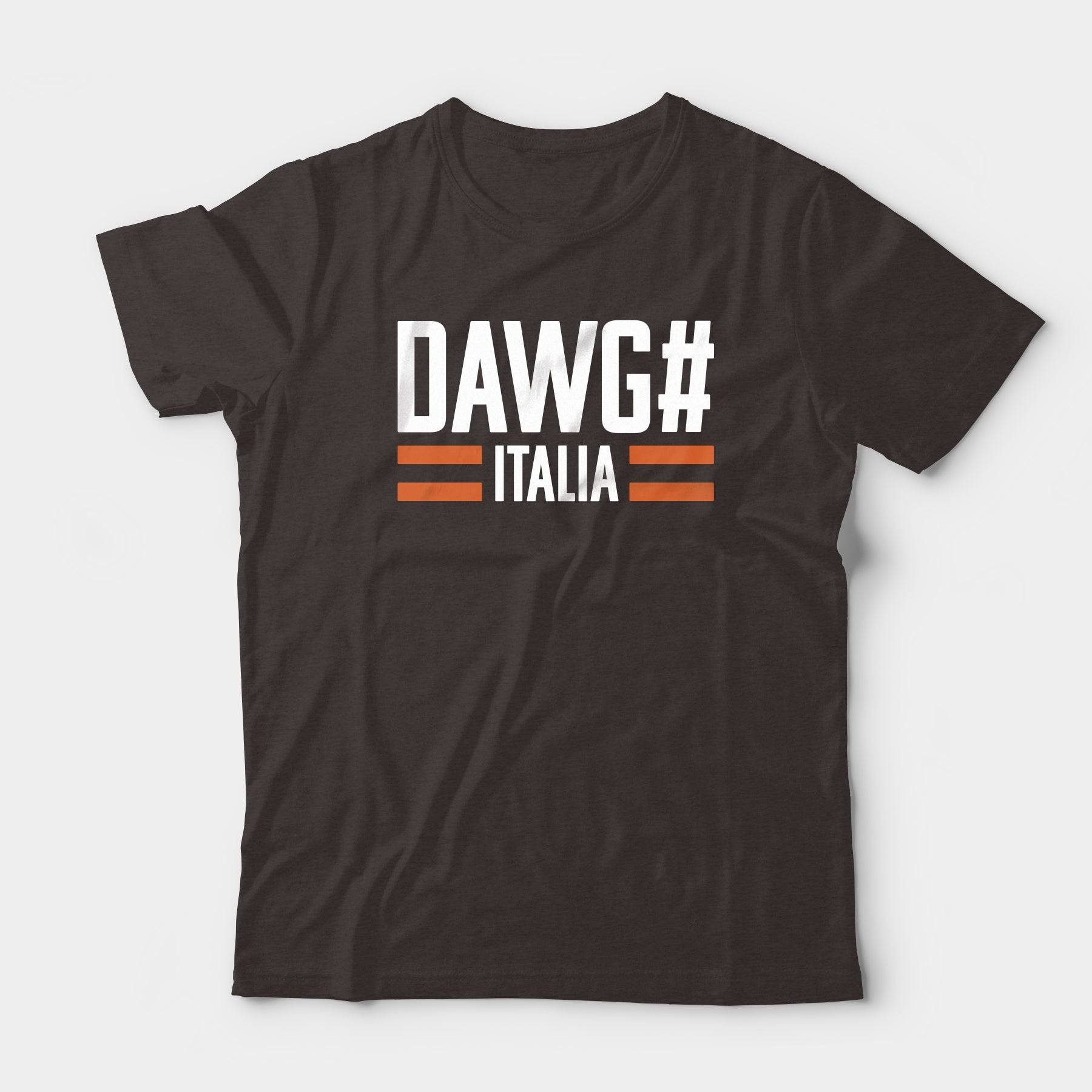 Dawg# Italia Tee, Brown