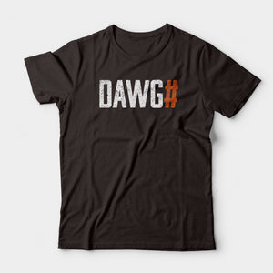 Dawg# Tee, Brown
