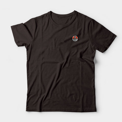 Lil' Destroyer Embroidered Tee, Brown
